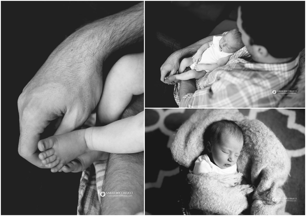 Boulder, Colorado Newborn Photographer