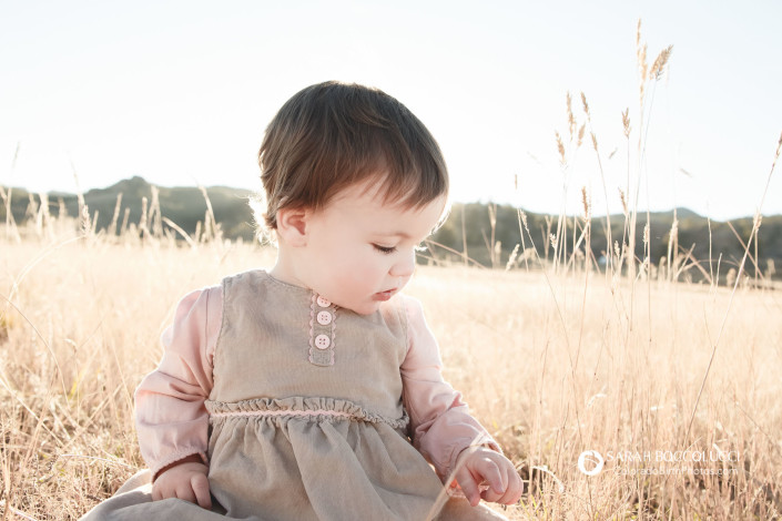 Lyons Colorado Family Photographer Baby In Field