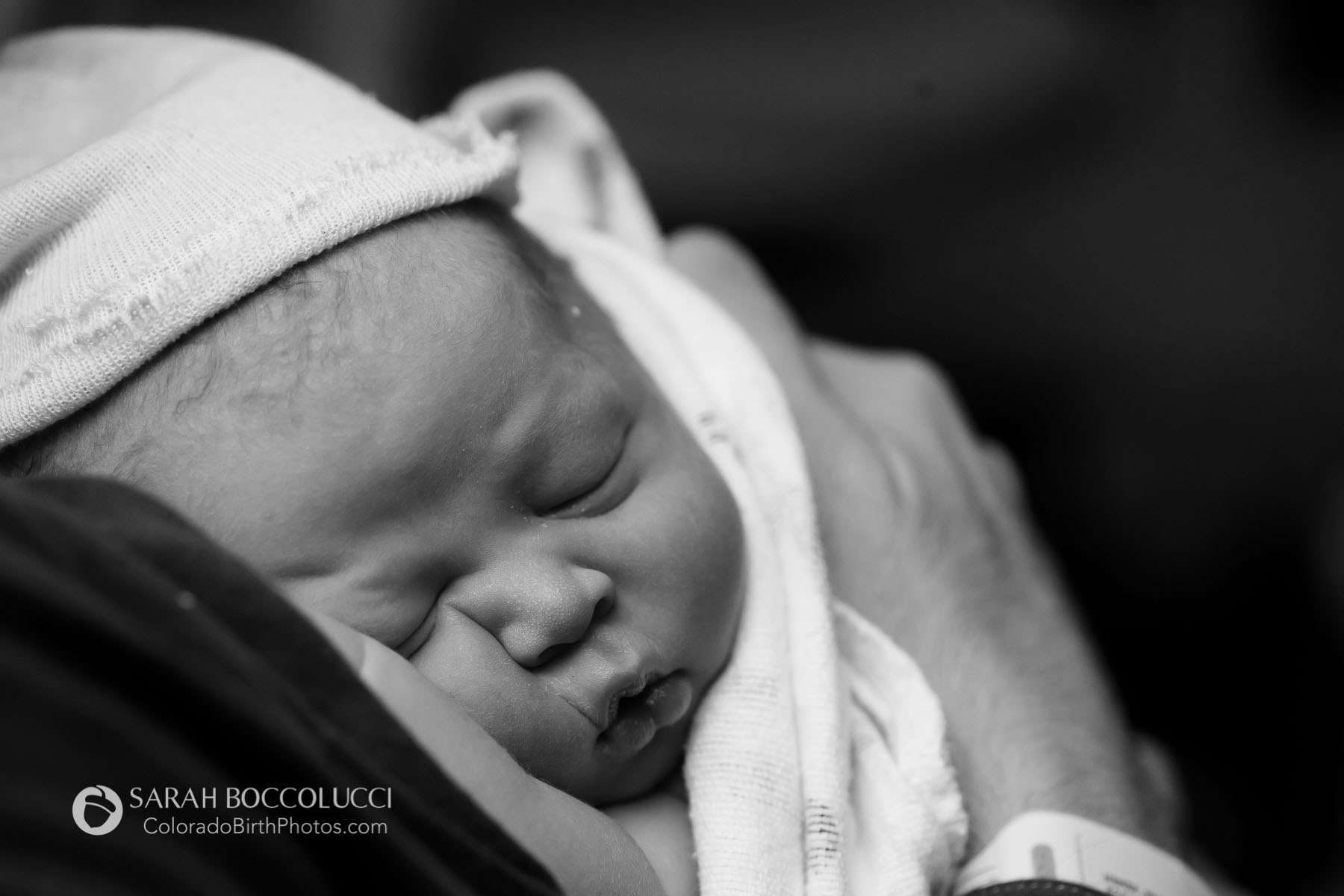 Colorado Birth Photographer squishy baby