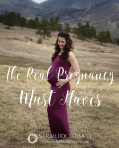 What do you really need when you are pregnant