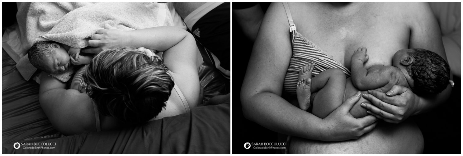 Longmont Colorado Birth Photographer, Homebirth, waiting on placenta delivery