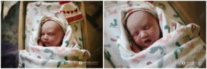 Longmont, Colorado birth photography, baby in bassinet