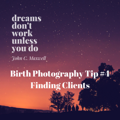 Finding birth clients
