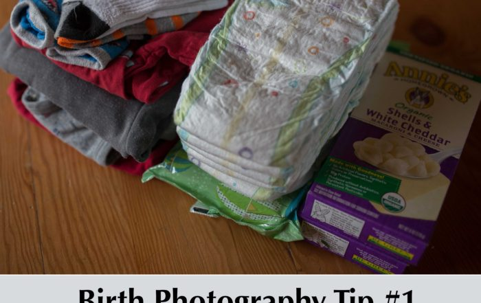 Birth photography tip
