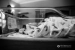 Longmont, Colorado birth photographer, baby in bassinet