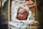Longmont Colorado Birth Photographer, baby in hospital room